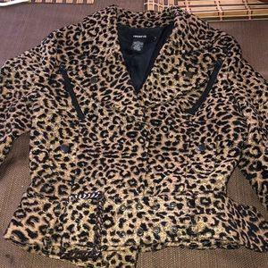 Arden B Leopard Jacket